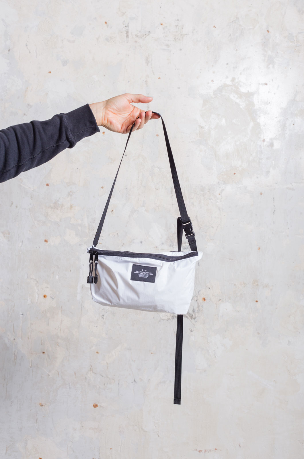 Bags in Progress - FannyPack Crossbody - White
