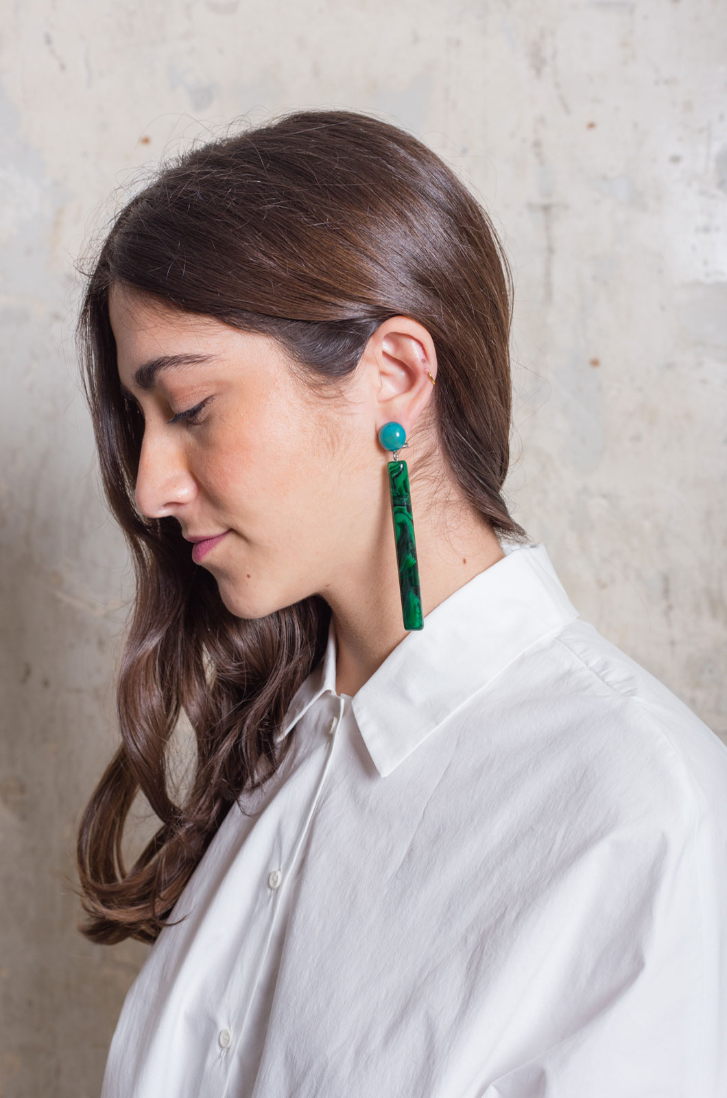 Rachel Comey - Mission Earring - Malachite Multi