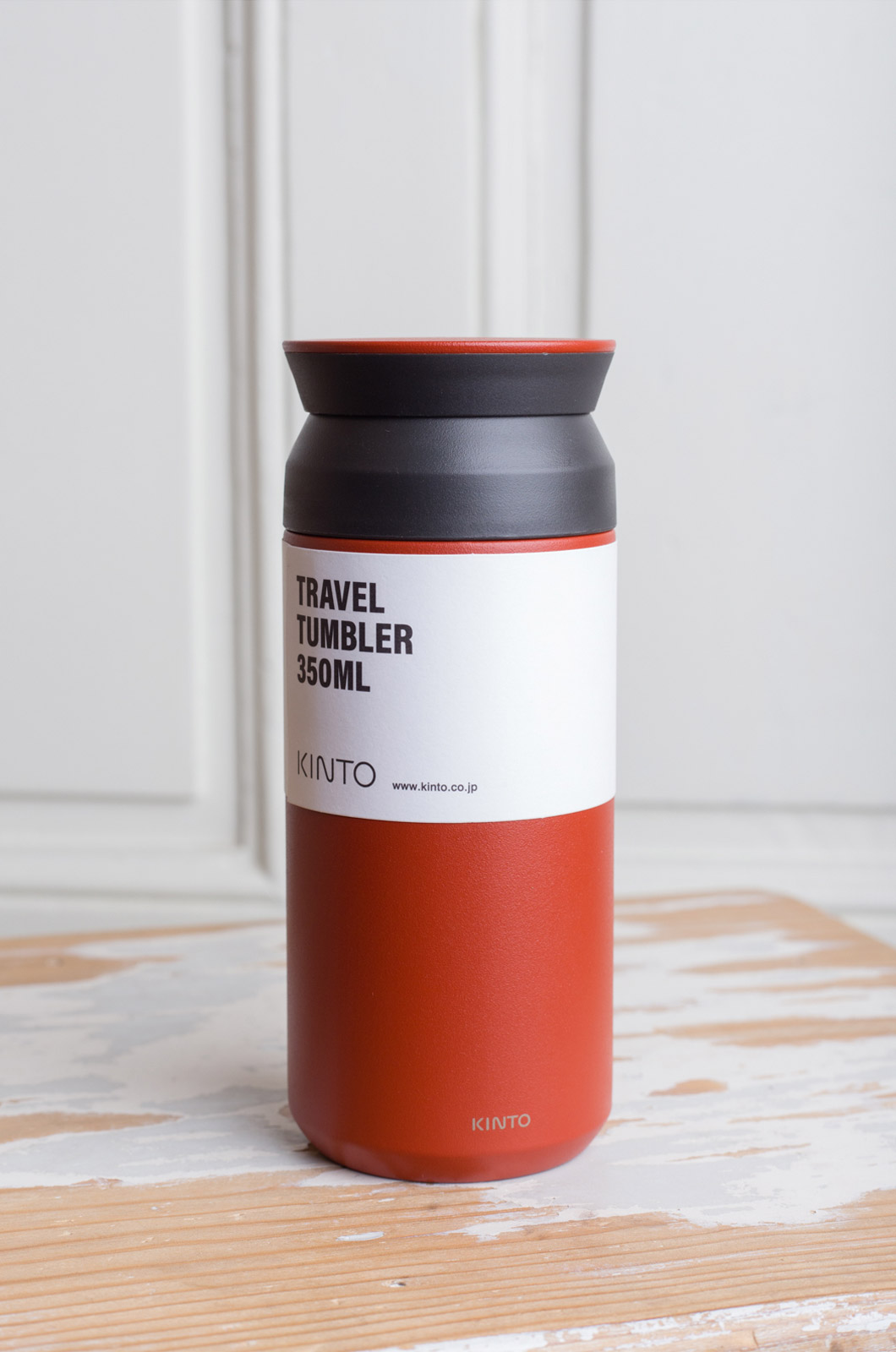 Kinto - Travel Tumbler - Red - 350 ml
