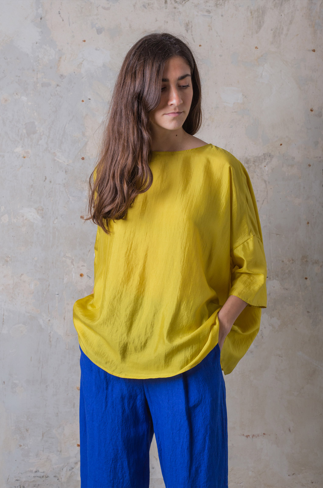 ApuntoB - Shirt P1022/TS557 - Lemon