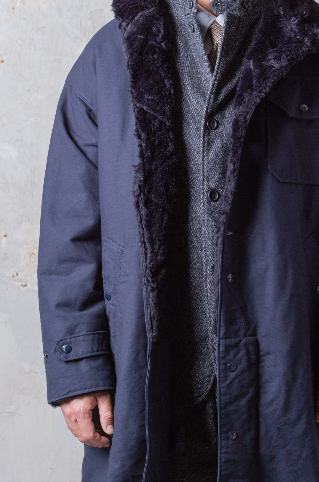 Engineered Garments - Coastline Parka - Navy